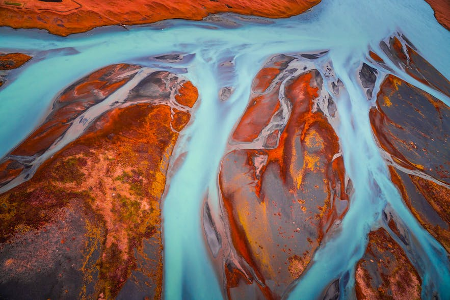 Icelandic aerial photo  - Photo by Albert Dros