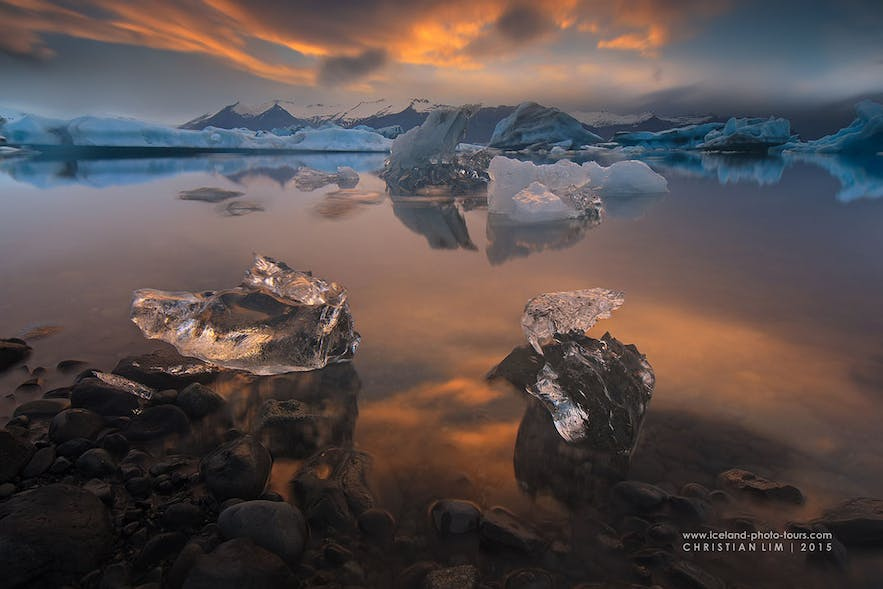 Beautiful pieces of ice - Photo by Christian Lim