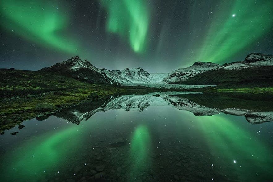 Northern Lights - Photo by Raymond Hoffman