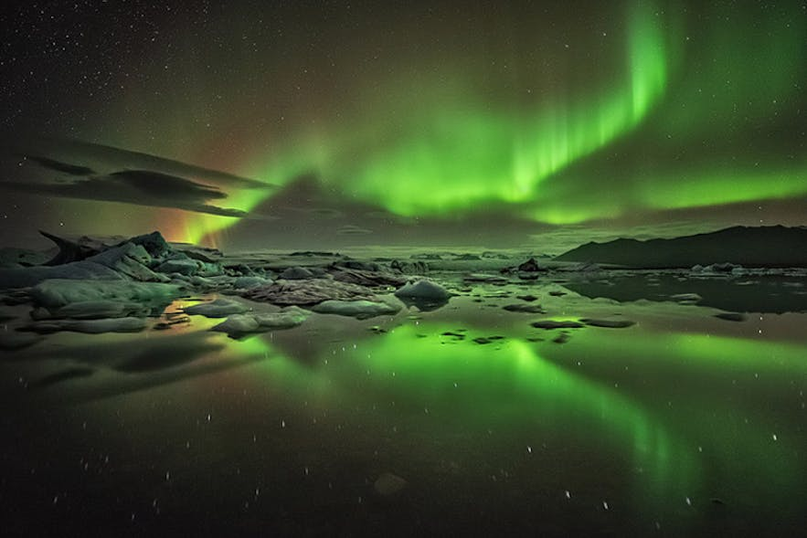 Aurora in Iceland - Photo by Raymond Hoffman