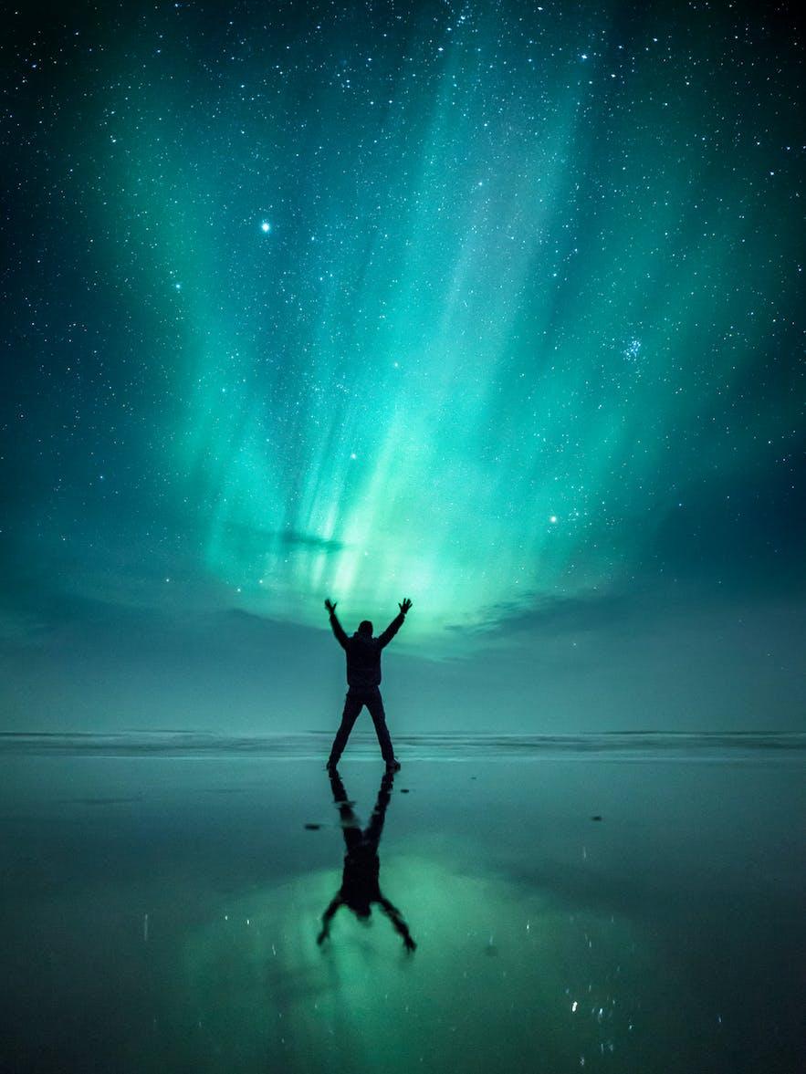Beneath the Aurora. Photo by: 'Mads Peter Iversen'.