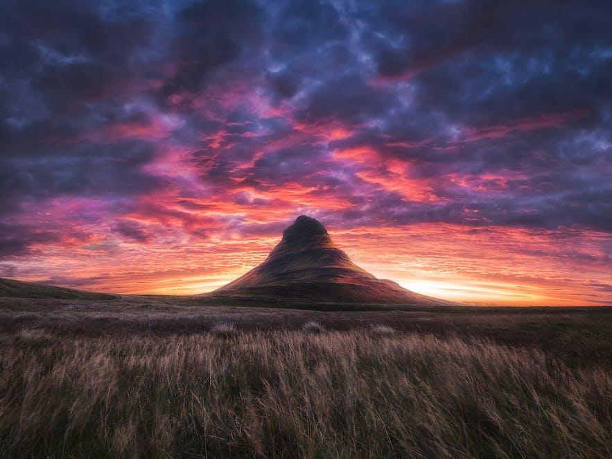 Kirkjufell. Photo by: 'Mads Peter Iversen'.