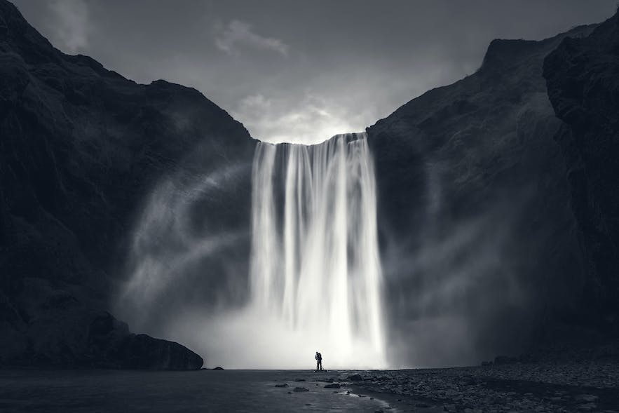 Skogafoss. Photo by: 'Mads Peter Iversen'.