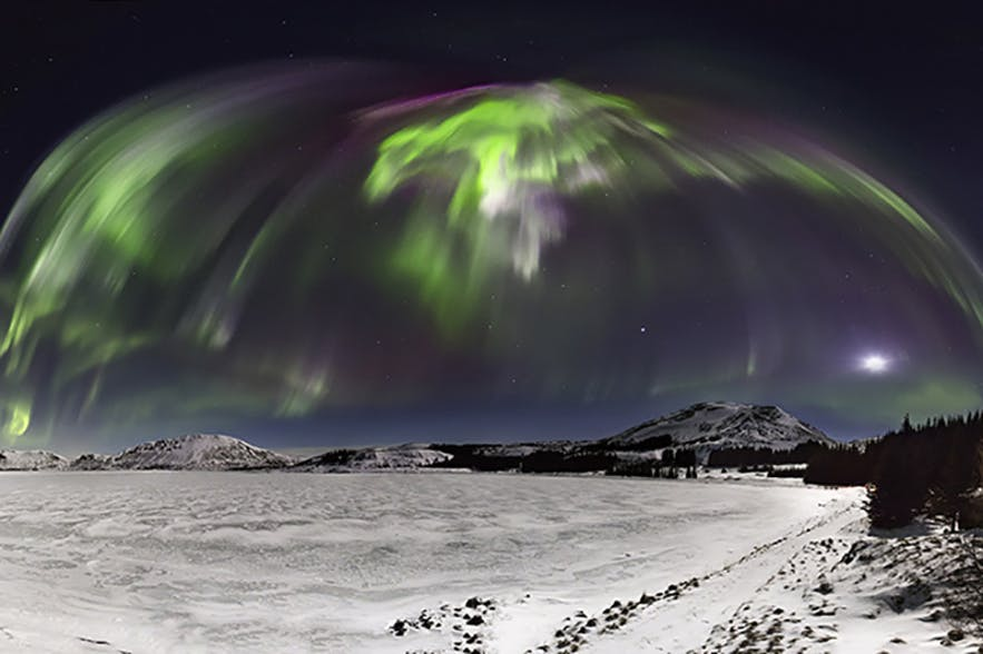 Aurora Borealis. Photo by: 'Siggi'.