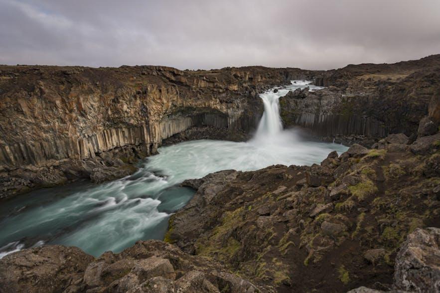 Aldeyjarfoss. Photo by: 'Bragi Kort'.