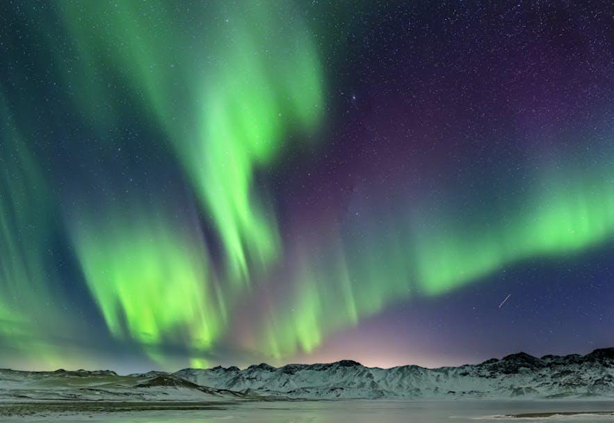 Aurora Borealis in Iceland. Photo by: 'Bragi Kort'.