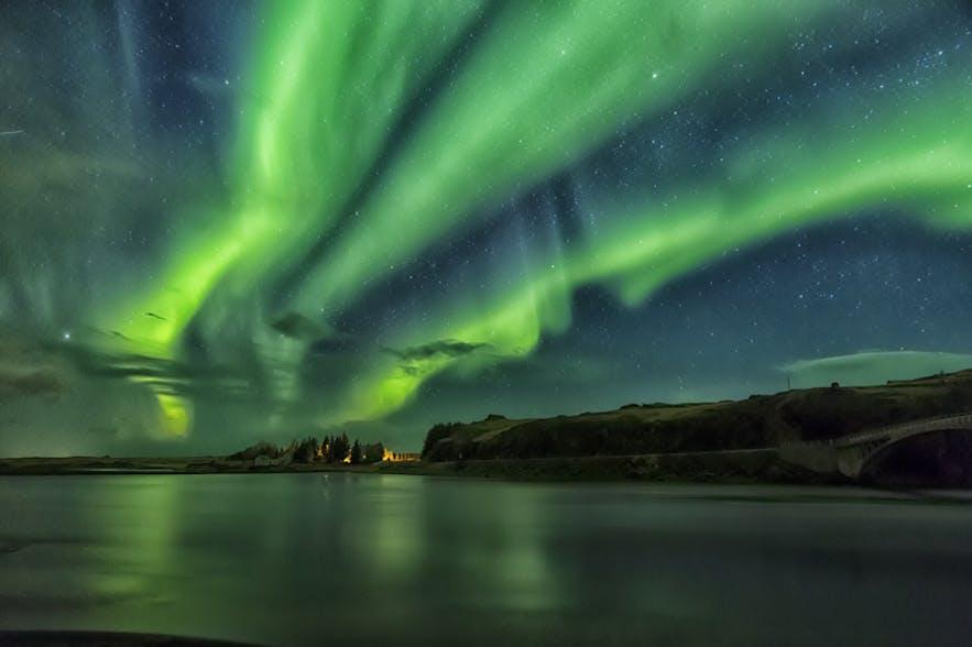 Northern Lights over Iceland. Photo by: 'Bragi Kort'.