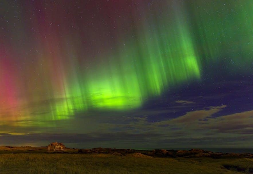Northern Lights in Iceland. Photo by: 'Bragi Kort'.
