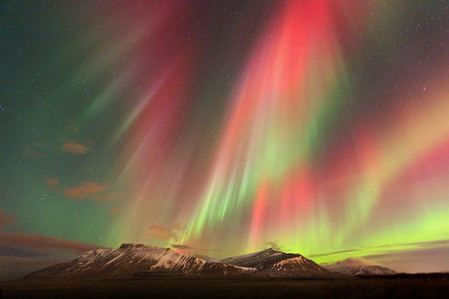 Aurora Borealis in Iceland. Photo by: 'Jon Hilmarsson'.