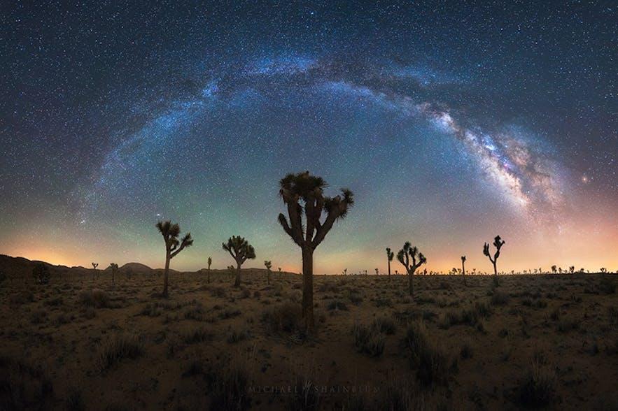 Milky Way. Photo by: 'Michael Shainblum'.