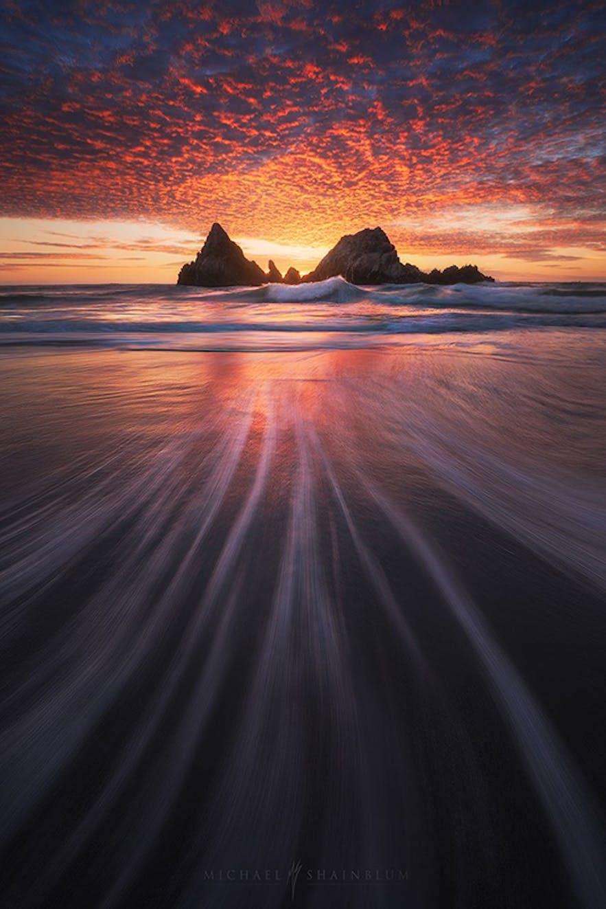 Long Exposure Sunset. Photo by: 'Michael Shainblum'.