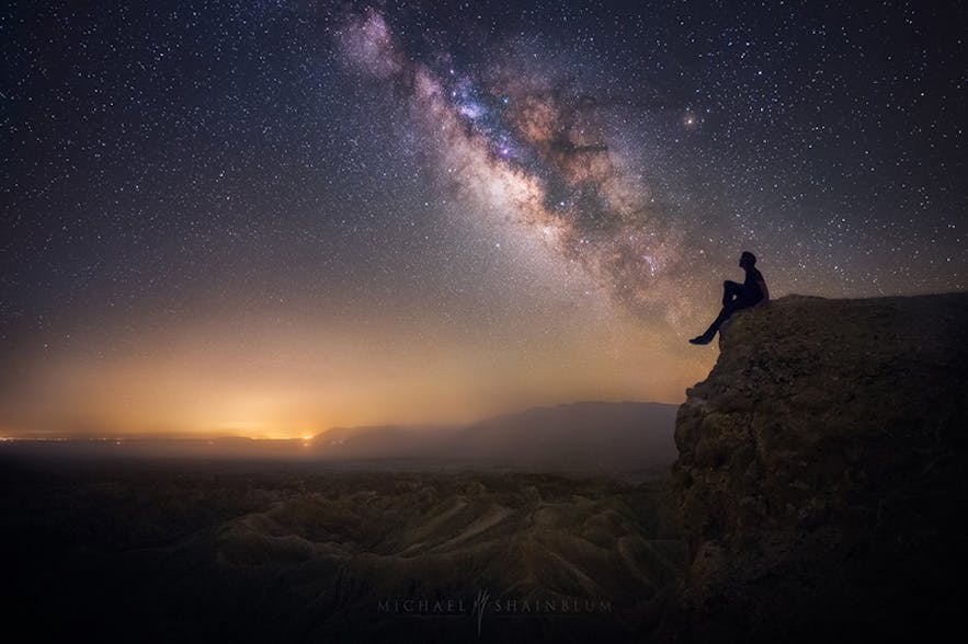 Milky way photography. Photo by: 'Michael Shainblum'.