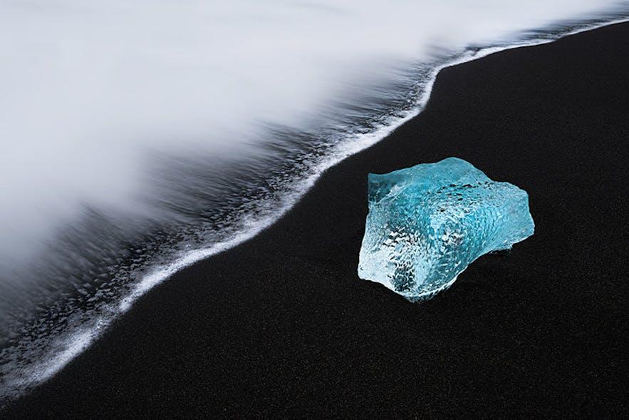 Ice Beach. Photo by: 'Perri Schelat'.