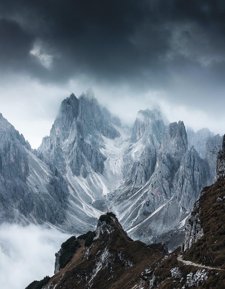 Italian Dolomites. Photo by: 'Julien Grondin'.
