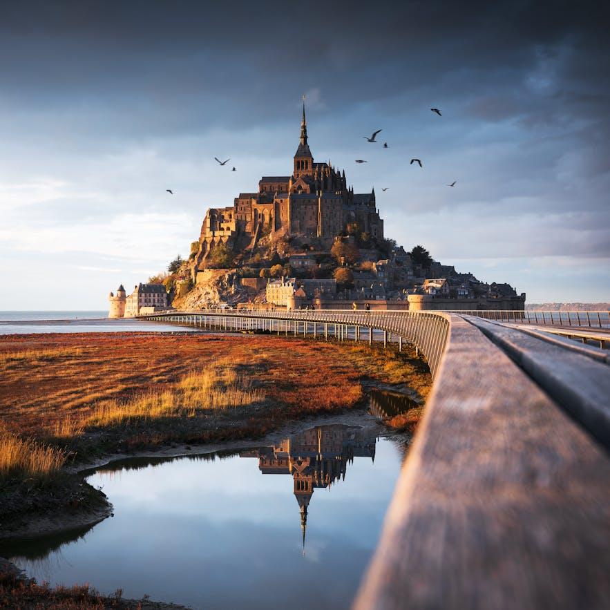 Mont Saint Michel in France. Photo by: 'Julien Grondin'.