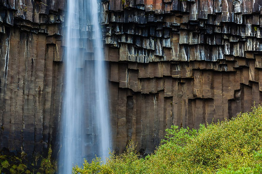 Svartifoss. Photo by: 'Pall Jokull Petursson'.