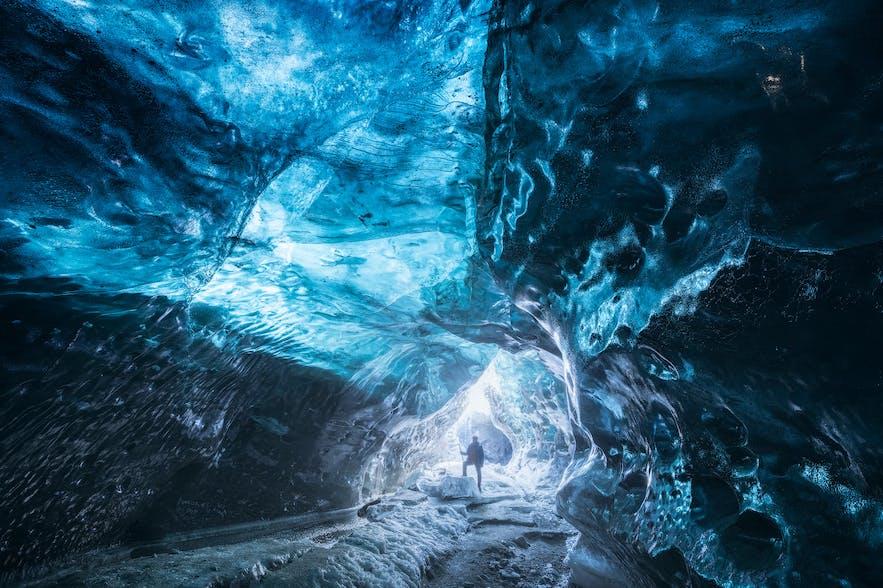 Eine Eishöhle