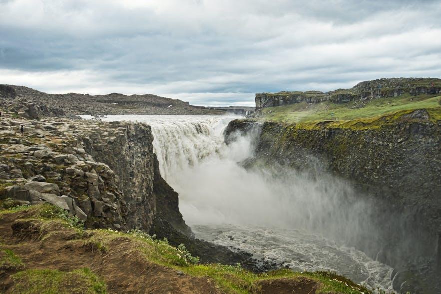 Dettifoss waterfall in Jökulsárgljúfur
