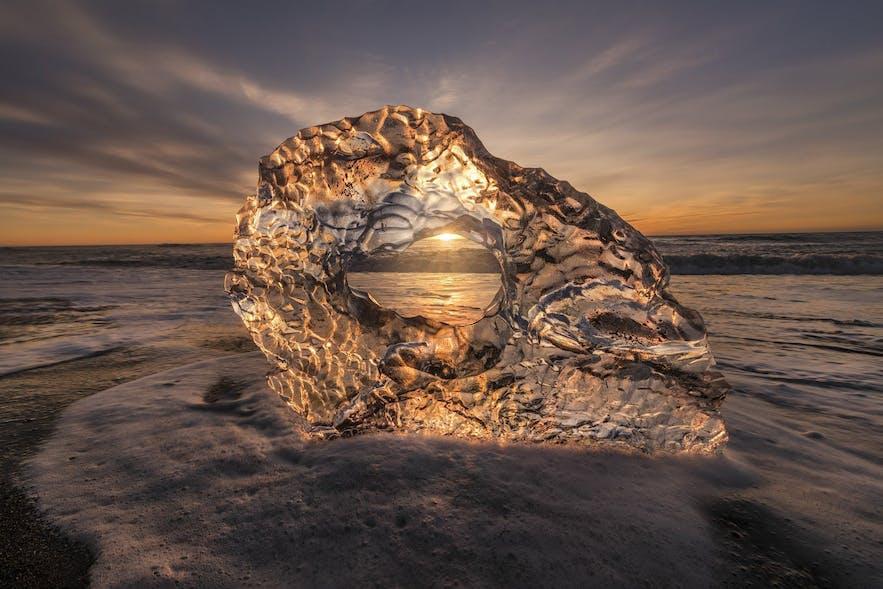 Diamond Ice Beach - Photo by Dany Eid