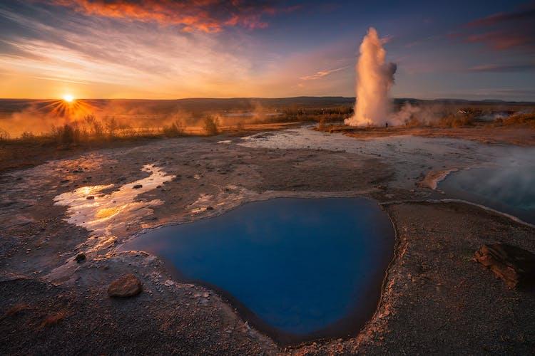 Island ist ein geothermales Wunderland.