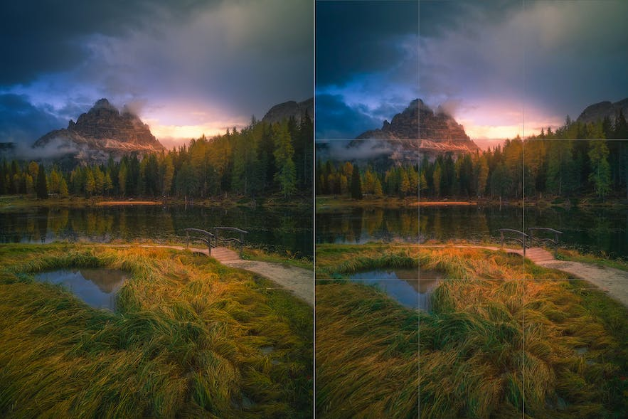 How to start taking landscape photos with a smartphone