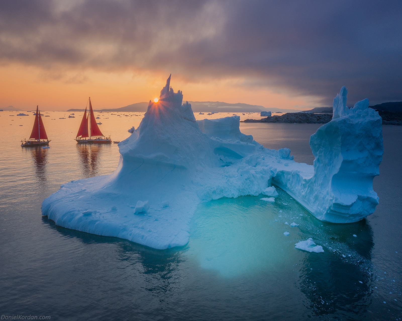 Red Sails in Greenland | Summer Photo Workshop - day 3