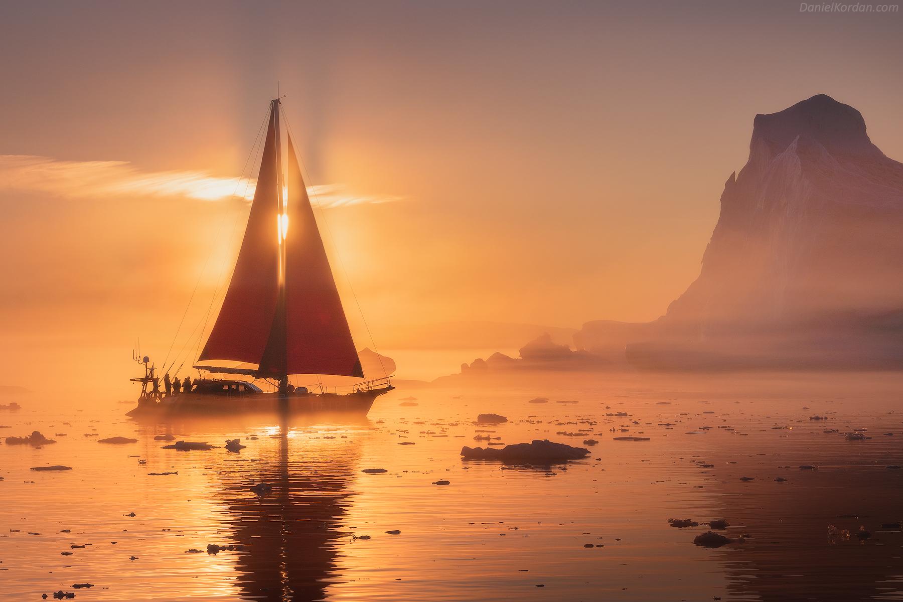 Red Sails in Greenland | Summer Photo Workshop - day 5