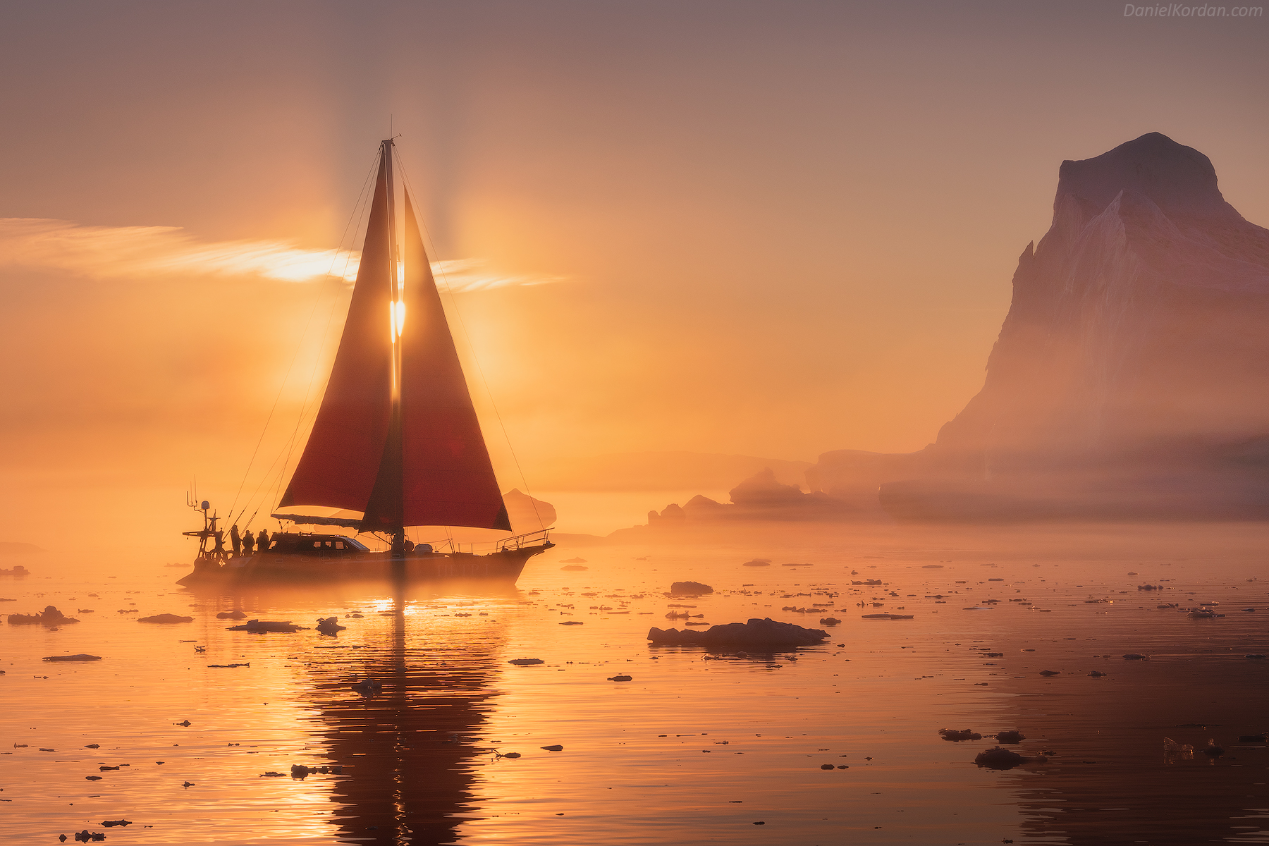 Red Sails in Greenland | Summer Photo Workshop - day 5