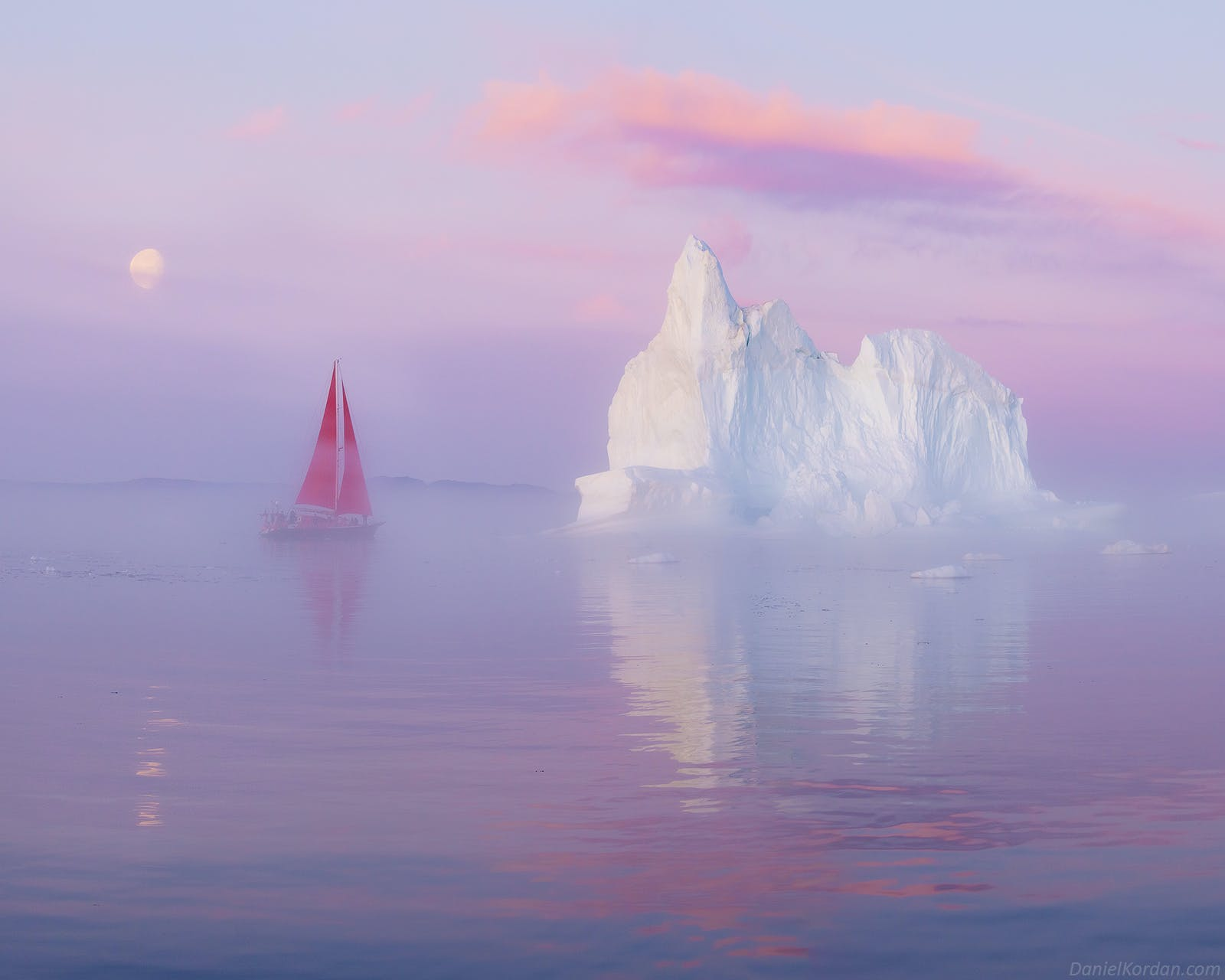 Red Sails in Greenland | Midnight Sun Photo Workshop