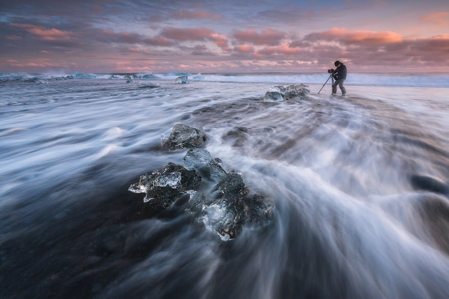 5 Good Reasons to Add People into Your Landscape Photography of Iceland