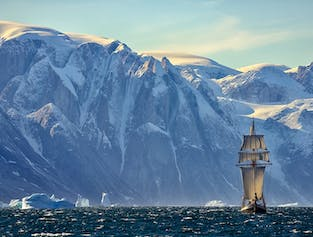Greenland Photo Tour in Scoresby Sound | Sailing on Schooner width=