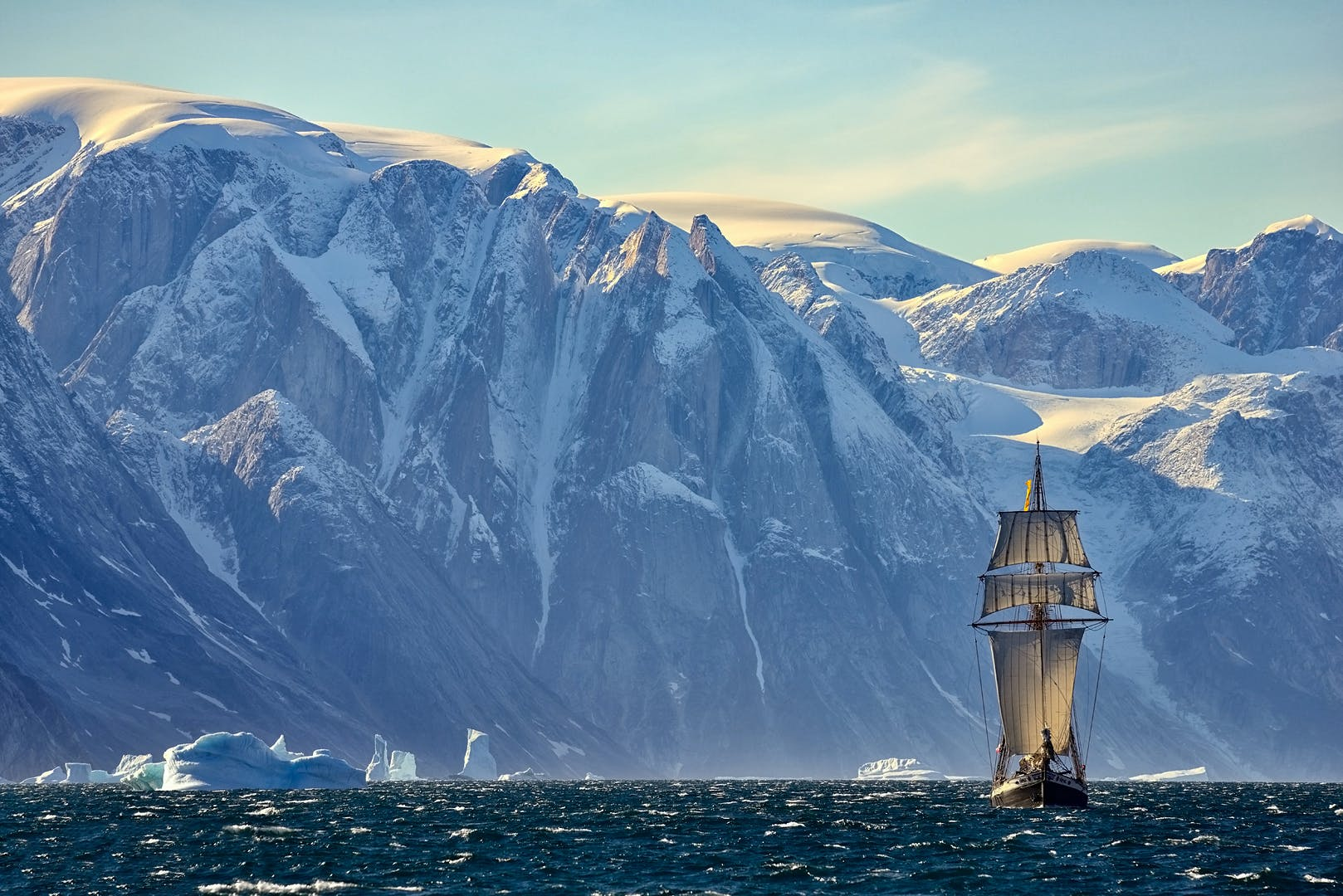 Greenland Photo Tour in Scoresby Sound | Sailing on Schooner