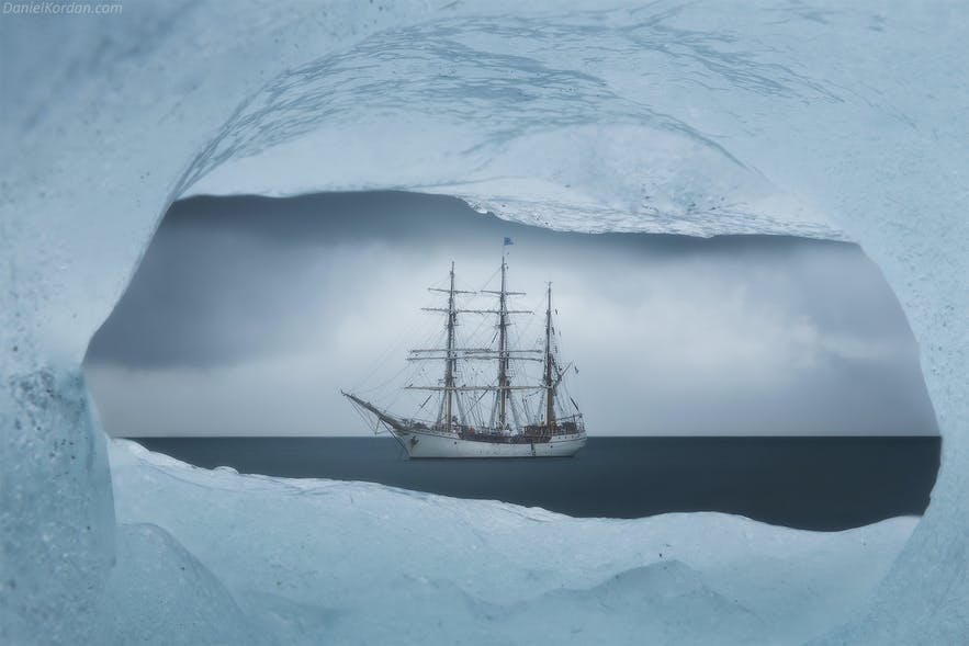 Visiting the Antarctic by ship is an exhilarating experience.