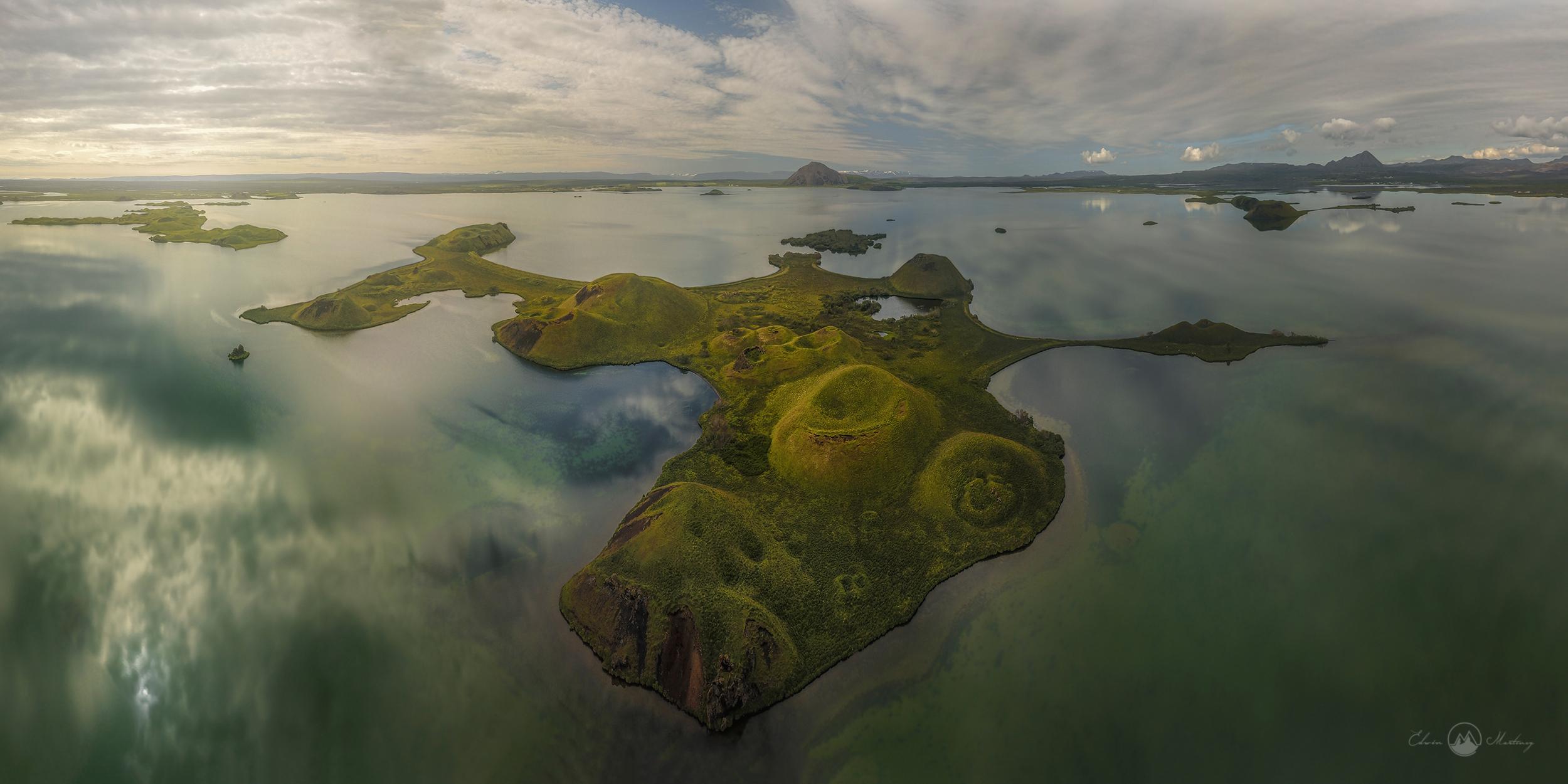 Die entlegenste Region Islands sind vermutlich die Highlands.