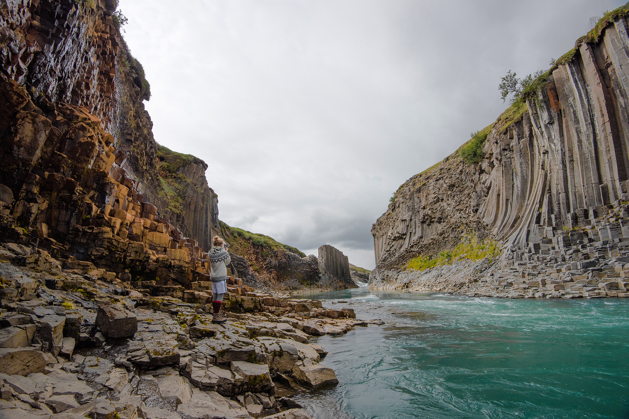 Stuðlagil — The Magical Basalt Column Canyon
