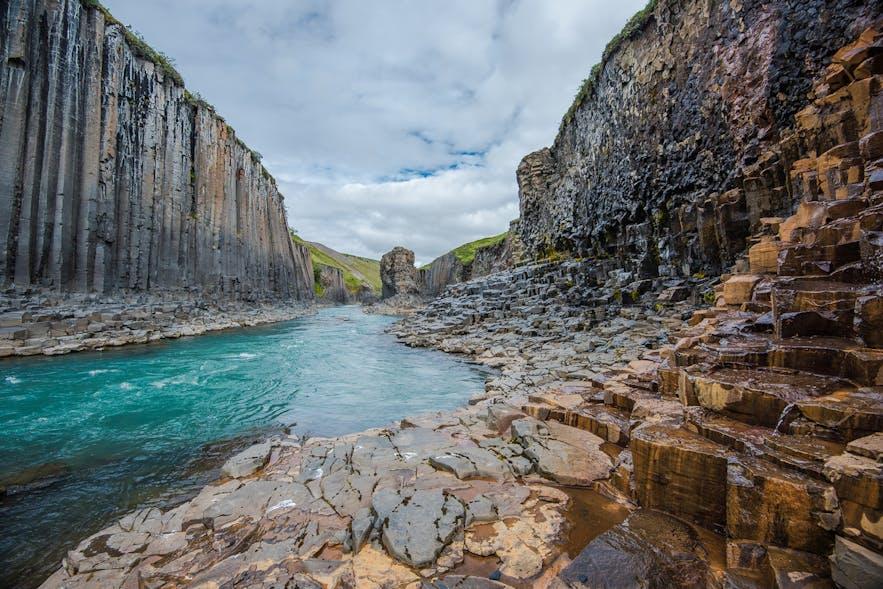 Stuðlagil canyon in Jökla