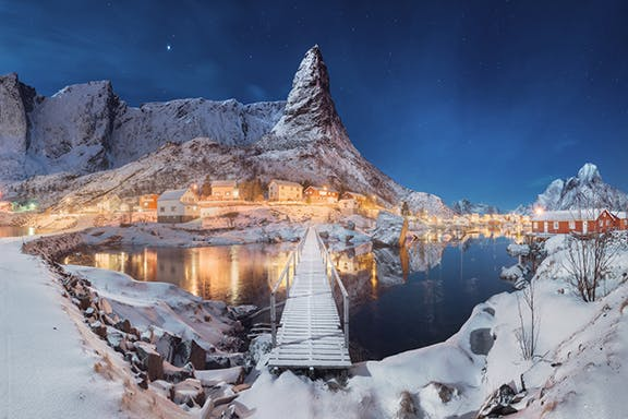9-Day Winter Photo Workshop in the Lofoten Islands of Norway - day 1
