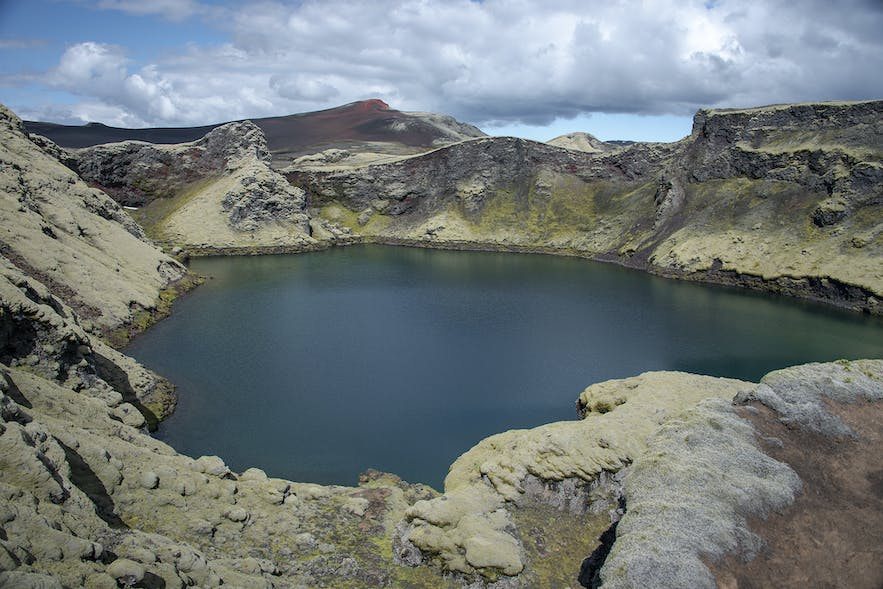 Tjarnargígur crater is one of the most compelling craters among the Lakagígar craters