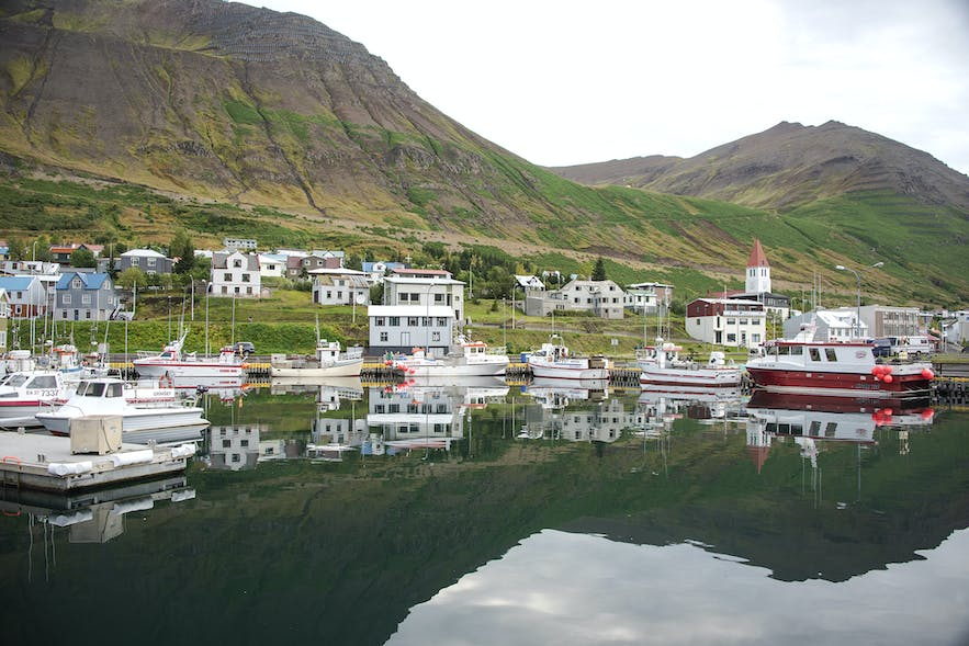 The town of Siglufjörður has developed through some interesting stages