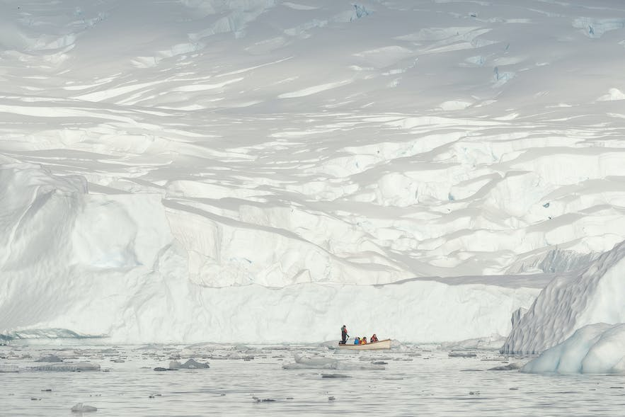 Much of Antarctica looks the same.