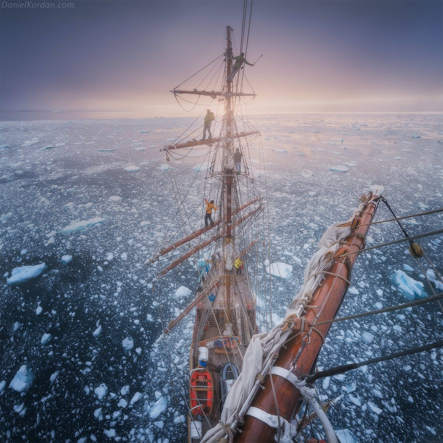 The Greg Mortimer is a great ship to take an Antarctic photo workshop on.
