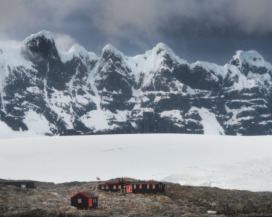 There is very little urban landscape photography in Antarctica.