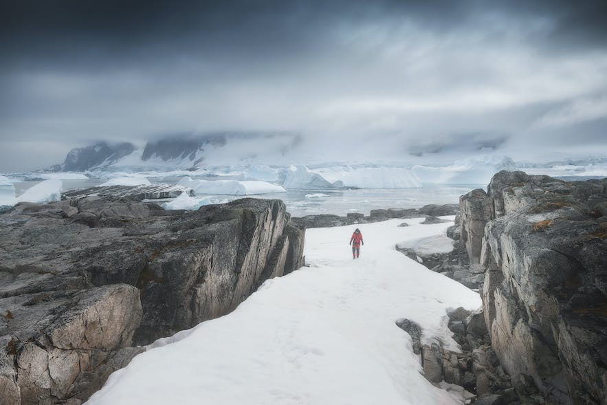 Prepare for cold on an Antarctica photo workshop.