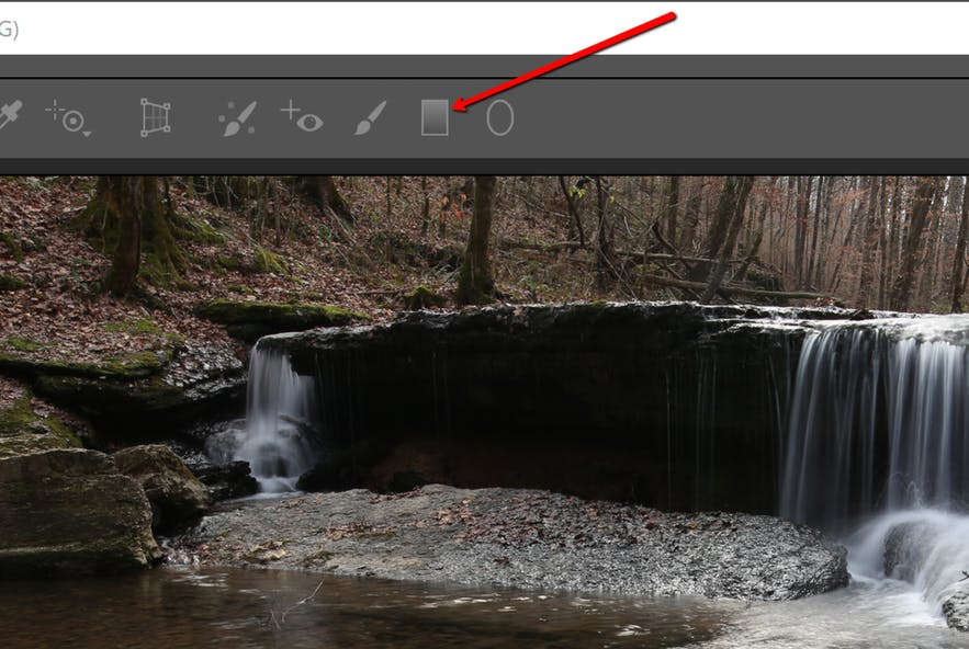 How to Use the Graduated Filter Tool for Landscape Photography