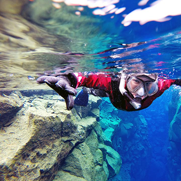Drysuits keep you buoyant in the freshwater, meaning you will spend the tour floating at the surface.