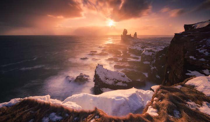 Il giro dell'Islanda in un'avventura invernale guidata di 8 giorni