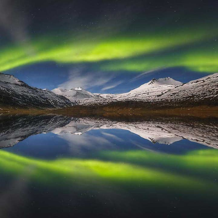 6 Day Northern Lights Hunting Trip | From Reykjavik to the Ice Cave